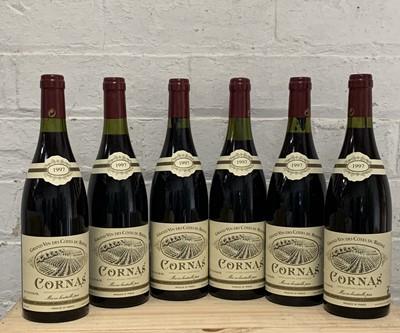 Lot 96 - 6 Bottles (in OC) Cornas Domaine Noel Verset 1997