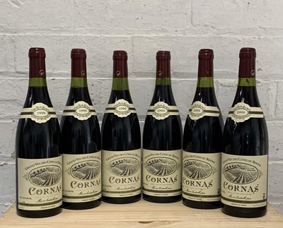 Lot 97 - 6 Bottles (in OC) Cornas Domaine Noel Verset 1999