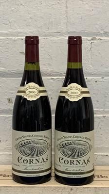 Lot 98 - 2 Bottles Cornas Domaine Noel Verset 2000