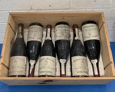 Lot 104 - 6 Bottles Chateauneuf du Pape from Domaine de Beaucastel