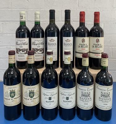 Lot 112 - 12 Bottles Fine Estate Bandol from 1998 Vintage