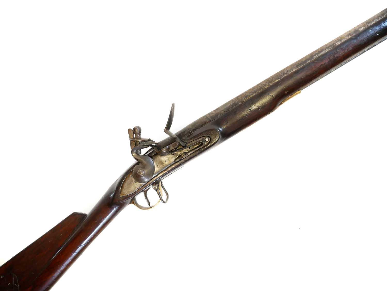 Lot Indian flintlock musket