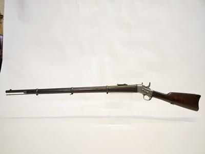Lot Remington Rolling block .43 Spanish rifle