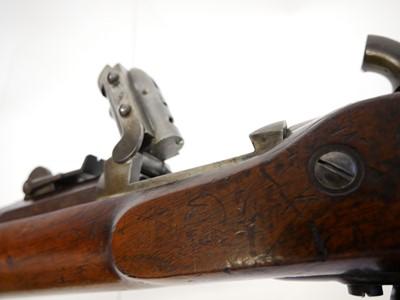 Lot Swiss Milbank Amsler rifle