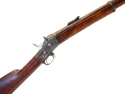 Lot Swedish 1867 12.17x44 rolling block rifle