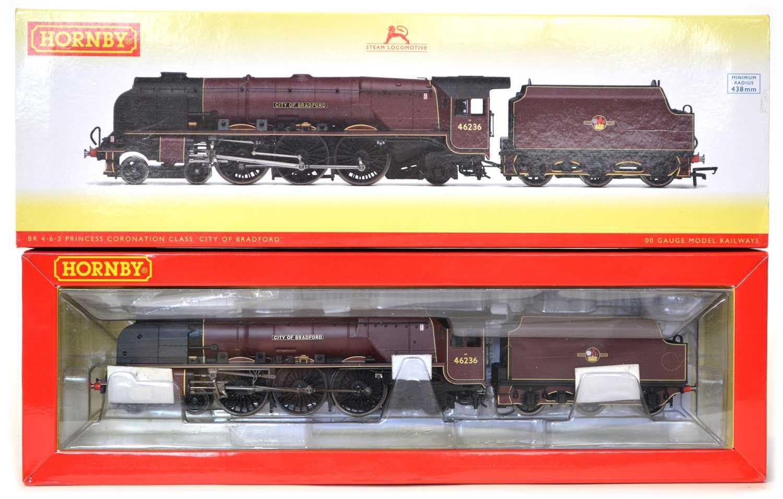 Lot Hornby R3241 OO gauge, 'City of Bradford'...
