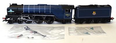 Lot Hornby OO gauge, R3245TTS 4-6-2 Peppercorn...