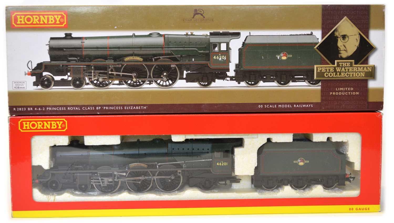 Lot Hornby OO gauge, R2823 BR Princess Royal Class...