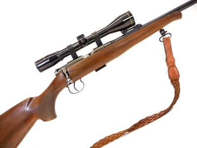 Lot CZ Brno .22 rifle with scope and moderator LICENCE REQUIRED