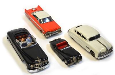 Lot Four tinplate cars