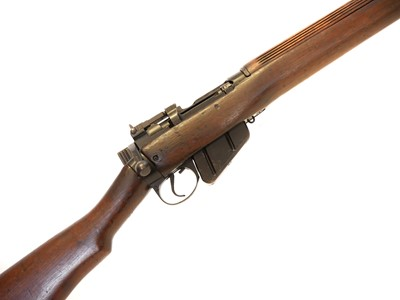 Lot Lee Enfield No.4 Smooth bored bolt action with .410 barrel A3826