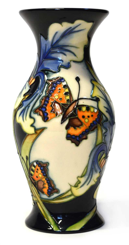 Lot Moorcroft Butterfly Vase