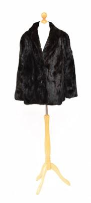 Lot 26 - A Saga Mink fur coat