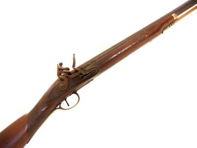 Lot Sam Dyke's Flintlock Duck Gun