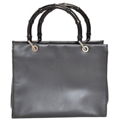Lot 18 - A Gucci Bamboo Tote Bag