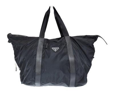 Lot 4 - A Prada Weekender Travel Bag