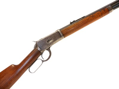 Lot Winchester 1907 1892 lever action rifle LICENCE REQUIRED