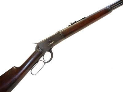 Lot Winchester 1892 32-20 lever action rifle, LICENCE REQUIRED