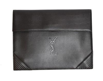 Lot 13 - A Yves Saint Laurent Vintage Clutch Bag