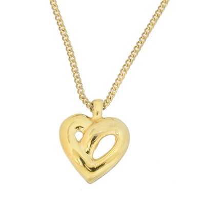 Lot 42 - A Christian Dior Heart Necklace