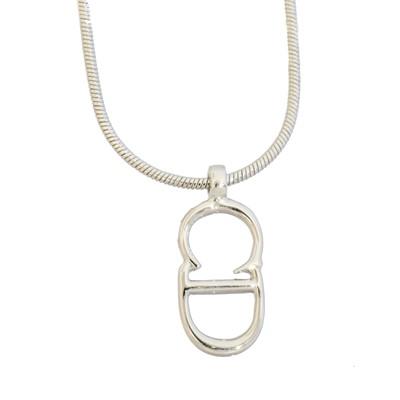 Lot 19 - A Dior CD Pendant Necklace