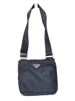 Lot 24 - A Prada Front Flap Top Zip Bag