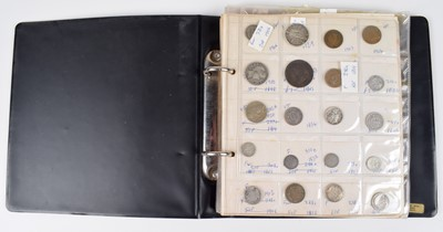 Lot 59 - One album of mainly U.S. and other foreign coins dating back to George II.