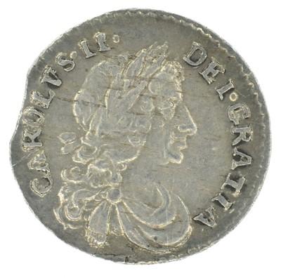 Lot 21 - King Charles II, Penny, 1684/3.