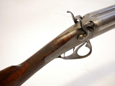 Lot Edward Paton 20 bore thumbhole underlever shotgun LICENCE REQUIRED
