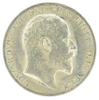 Lot 39 - King Edward VII, Shilling, 1904.