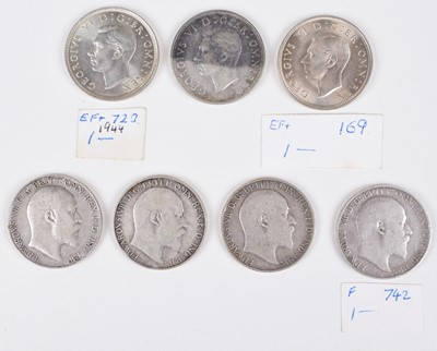 Lot 14 - Selection of silver and later Two Shillings/ Florins to include 1905 Florin (24).