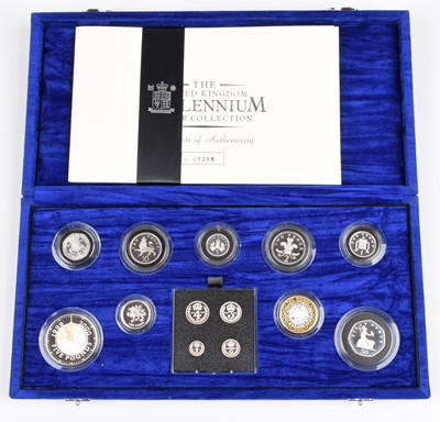 Lot 50 - The Royal Mint United Kingdom Millennium Silver Collection.