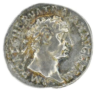 Lot 6 - Trajan (98-117AD), Denarius, silver.