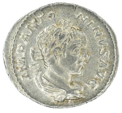 Lot 7 - Elagabalus (218-222AD), Denarius, silver.