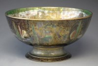 267 - Wedgwood Fairyland lustre bowl.