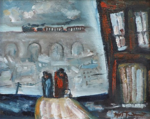 404 - William Turner, Hillgate, Stockport, oil.