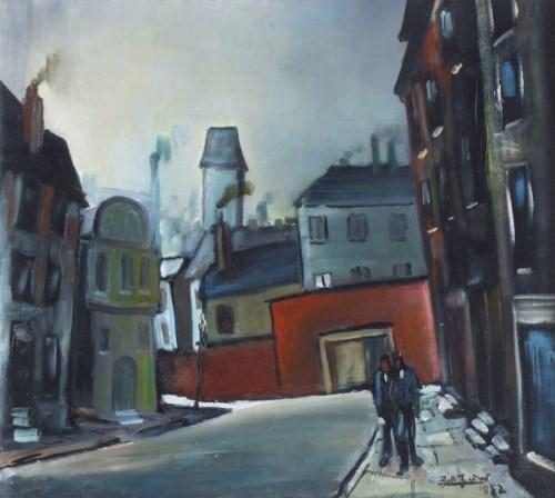 460 - William Turner, Pritchard Street, Manchester, oil.