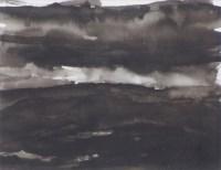 539 - Trevor Grimshaw, Storm Clouds, ink wash.