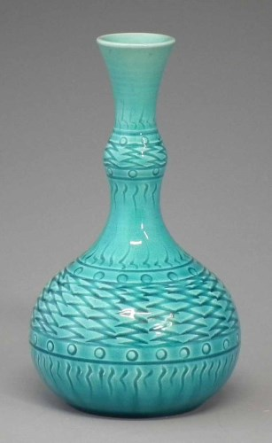 Lot 169-Burmantoft 1642 Vase