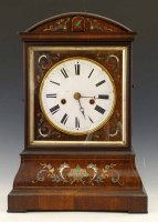 422 - Rosewood bracket cuckoo clock.