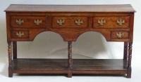 449 - Oak dresser.