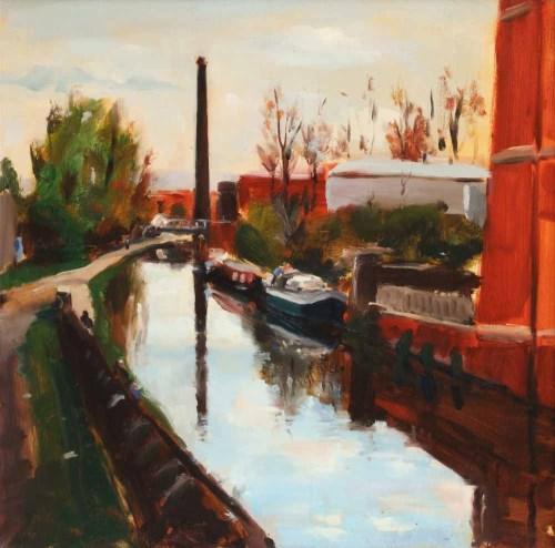 302 - Liam Spencer, Portland Basin III, oil.