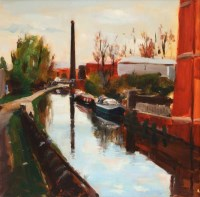 302 - Liam Spencer, Portland Basin III, oil.