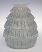 127 - Lalique Ferrieres vase.