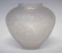 129 - Lalique Eterel Vase