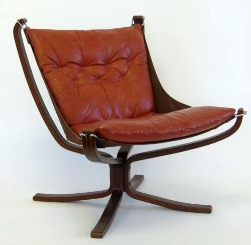 Lot 651-1970's Falcon Chair