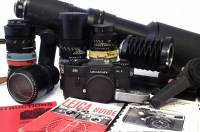 26 - Leica SL2 camera and accessories.