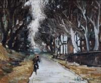 486 - William Turner, Cheshire Lane, oil.