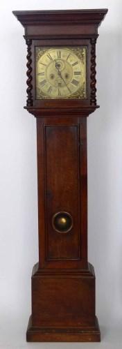 Lot 644-Long case clock, Nantwich.