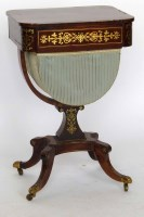 655 - Regency work table.